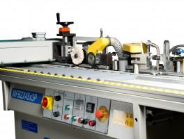 «MFBZ45x3P» и «MFBZX-1» – автоматические кромкооблицовочные станки для малых и средних деревообрабатывающих цехов